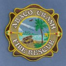 Abaco Bahamas Regional Airport Fire Rescue Patch ARFF
