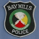 Bay Mills Michigan Tribal Police Patch