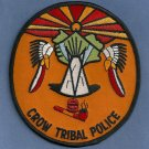 Crow Montana Tribal Police Patch