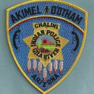 Akimel O'Otham Arizona Tribal Police Patch