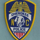 Cherokee Nation North Carolina Tribal Police Patch