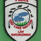 Red Lake Nation Minnesota Tribal Police Patch