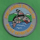 Port Gamble S'Klallam Washington Tribal Police Patch