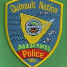 Quinault Nation Washington Tribal Police Patch
