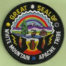 White Mountain Apache Arizona Tribal Seal Patch