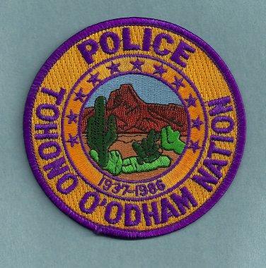 Tohono O'Odham Arizona Tribal Police Patch