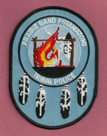 Prairie Band of Potawatomi Kansas Tribal Police Patch