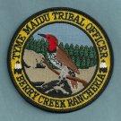 Tyme Maidu California Tribal Police Patch