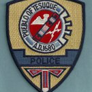 Pueblo of Tesuque New Mexico Tribal Police Patch