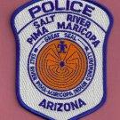 Salt River Pima Arizona Tribal Police Patch