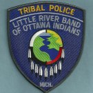 Little River Band of Ottawa Indians Michigan Tribal Police Patch