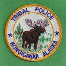 Kongiganak River Alaska Tribal Ranger Police Patch