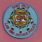 Fort Peck Assiniboine Sioux Montana Tribal Police Patch