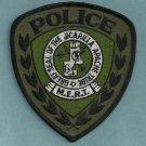 Jicarilla Apache New Mexico Tribal Police MERT Patch