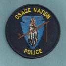 Osage Nation Oklahoma Tribal Police Patch