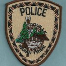 Coquille Oregon Tribal Police Patch