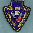Winnebago Nebraska Tribal Police Patch