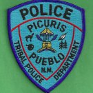 Pueblo of Picuris New Mexico Tribal Police Patch