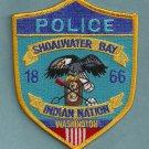 Shoalwater Bay Washington Tribal Police Patch