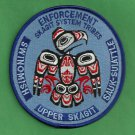 Skagit System Tribes Washington Tribal Police Patch