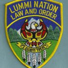 Lummi Nation Washington Tribal Police Patch
