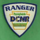Pennsylvania Natural Resources State Parks Ranger Patch