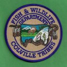 Colville Tribes  Fish & Game Enforcement Police Patch