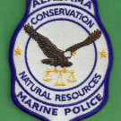 Alabama Natural Resources Enforcement Marine Police Patch