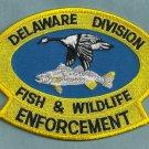 Delaware Fish & Wildlife Enforcement Police Patch