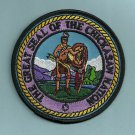 Chickasaw Nation Oklahoma Tribal Seal Patch