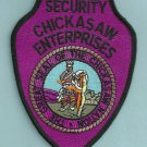 Chickasaw Nation Oklahoma Tribal Security Police Patch