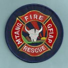 Great Falls Montana Air National Guard Crash Fire Rescue Patch