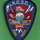 Panama City Naval Coastal System Center Florida Fire Rescue Patch