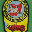 Ohio Air National Guard Crash Fire Rescue Patch