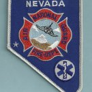 Nevada Air National Guard Base Crash Fire Rescue Patch