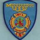 Jackson Mississippi Air National Guard Crash Fire Rescue Patch