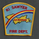 K.I. Sawyer Air Force Base Michigan Crash Fire Rescue Patch