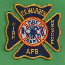 F.E. Warren Air Force Base Wyoming Crash Fire Rescue Patch
