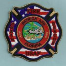 Patrick Air Force Base Florida Crash Fire Rescue Patch NEW STYLE