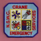 Crane Naval CBC Base Indiana Fire Rescue Patch