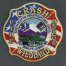 Fort Lewis Military Base Washington Crash Fire Rescue Patch