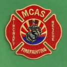 Yuma Marine Corps Air Station Arizona Crash Fire Rescue Patch