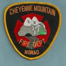 Cheyenne Mountain NORAD Colorado Fire Rescue Patch