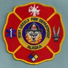 Fort Greely Military Base Alaska Fire Patch