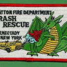 Stratton New York Air National Guard Crash Fire Rescue Patch