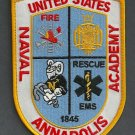 Annapolis Naval Academy Maryland Fire Rescue Patch