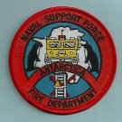 Antarctica McMurdo Naval Station Fire Rescue Patch