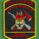 Tall-Afar Military Base Iraq Fire Rescue Patch