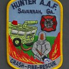 Hunter Army Airfield Georgia Crash Fire Rescue Patch