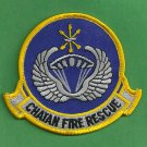 Chatan Air Base Japan Crash Fire Rescue Patch